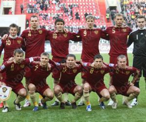 Стартовый состав сборной России на матч против Норвеги