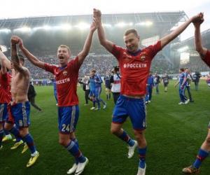 ЦСКА стал чемпионом России 2013/2014