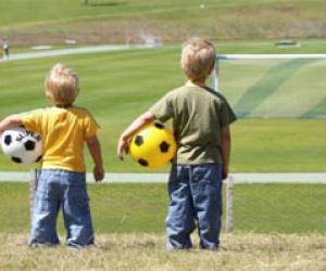 Почему детский футбол популярен